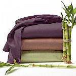 6 Piece: The Original Best Bamboo Organic Bed Sheets by RC Collection $12
