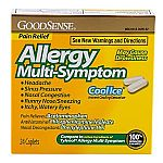 GoodSense Allergy Multi-Symptom Caplets, Cool Ice, 24 Count $1.23