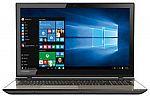 "Toshiba L55T-C5388 15.6"" Touchscreen Laptop (Core i7-6500U 8GB 1TB) $549"