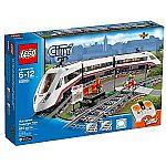 LEGO City Trains High-speed Passenger Train 60051 $82