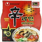 12-Pack Nongshim Shin Big Bowl Noodle Soup, Gourmet Spicy, 3.03 Ounce $8.57