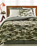 8-Piece Camo Bedding Ensemble $20