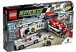 LEGO 75876 Porsche 919 Hybrid and 917K Pit Lane $56