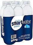 smartwater, 6 ct, 1L Bottle $5.10