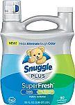 Snuggle Plus Super Fresh Fabric Softener Liquid 95 fl oz $6.60