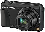 Panasonic DMC-ZS35K 16.1 MP Digital Camera with Case and Memory Card - Refurbished $85