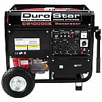 DuroStar 10000W Portable Gas Electric Start Generator Standby Camping DS10000E $640