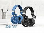 Bluedio Turbine T2S Wireless Bluetooth Headphones w/ Mic $20