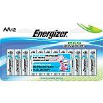 12-Pack Energizer AA Alkaline Battery $2.74 (YMMV)