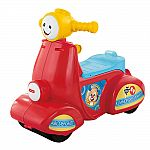 Fisher Price Laugh & Learn Smart Stages Scooter $15, Bounce, Stride & Ride Elephant $22