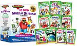 Rock 'N Learn Math & Science 10-DVD Collection $31.49, and more