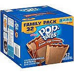 32 Count Frosted Brown Sugar Cinnamon Pop-Tarts $5.19