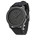 Citizen Men's BM8475-00F Black Canvas Strap Eco-Drive Watch $90