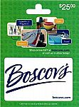 $25 Boscovs Gift Card $20 and more