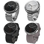 Motorola Moto 360 46MM Touch Android Wear Bluetooth Smart Watch $90