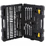 Stanely Mechanics Tool Set (145-piece) + 2 Stanely Mini-Blade Scrapers $40