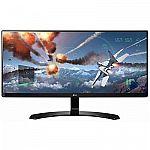 """LG 29UM68-P 29"""" 21:9 UltraWide FHD FreeSync IPS LED Monitor $240"""