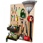 Flow Wall 24 sq. ft. Lawn and Garden Organization System $200