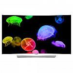 "65"" LG 65EG9600 4K Smart Curved OLED 3D TV $2485, 55"" Samsung UN65KS8500 $1750, 55"" LG 55EF9500 OLED $1699"