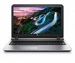 """HP Probook 450 15.6""""Laptop (Core i7-6500U 16GB  256GB SSD Full HD) $660"""