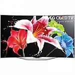 LG 65 Inch Curved 4K Ultra HD Smart TV 65EG9600 3D OLED UHD TV $2,500