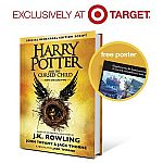 Harry Potter and the Cursed Child - Parts I & II (Exclusive Poster) (Special Rehearsal Edition) (Hardcover) + $5 Target Gift Card $18