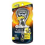 Gillette Fusion Proshield Men's Razor + 2X Blades $8