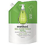 Case Of 6 (34 Oz) Method Gel Hand Wash Refill $7