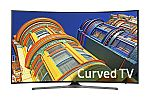 "Samsung UN55KU6500 55"" Curved 4K Ultra HD Smart HDTV + $300 Dell eGift Card $1000 and more"