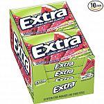Extra Sweet Watermelon Sugarfree Gum, 15 Stick Slim Pack (Pack of 10) $4.46