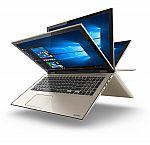 "Toshiba Satellite Fusion L55W-C5357 Signature Edition 15.6"" FHD Touchscreen IPS 2-in-1 Laptop (i5-6200U 8GB 1TB) $469"