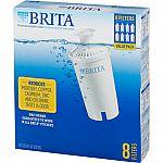 8 pk Brita Replacement Filters $25 + pickup