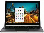 "Google Chrome Pixel 12.85"" Laptop (Core-i5 4GB 32GB SSD 2560x1700 Touch) $380"