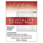 3× L'Oreal Revitalift Anti-Wrinkle + Firming Face/Neck Contour Cream 1.7 oz + $10 Gift Card $12.46