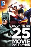 DC Universe 25 Movie Collection HD $99.99