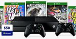 1TB Xbox One Console + Free controller + Free choice of Game + $50 Microsoft Store Credit $299
