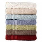 Home Expressions Solid Bath Towels: 7 for $18 + pickup