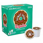 144-Ct of Keurig Donut Shop K-Cups (Various Flavors & More) + $10 Gift Card  $56.94