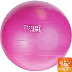 Tone Fitness 55cm Anti-burst Stability Ball $7 and more
