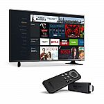 Hisense 32-Inch 720p LED TV with Fire TV Stick $120 (Prime member only)