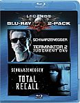 Terminator 2: Judgment Day / Total Recall (Two-Pack) [Blu-ray] $7.88