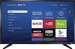 """Insignia 32"""" Class LED 720p Smart Roku TV $120"""