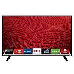 """Vizio 120Hz 1080p Smart LED HDTV: 43"""" D43-D1 $270 or 40"""" D40-D1 $252"""