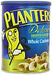Planters Deluxe Whole Cashews Canister, Lightly Salted, 18.25 Ounce $5.59