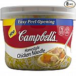 Campbell's Homestyle Soup, Chicken Noodle, 15.4 Ounce (Pack of 8) $5.58