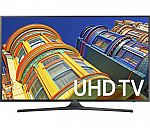 Samsung UN55KU6300 55-Inch 4K Ultra HD Smart TV $550, Samsung UN55KU6500 $650