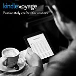 """Kindle Voyage 6"""" High-Resolution Wi-Fi E-reader - w/ Special Offers $150"""