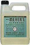 Mrs. Meyers Liquid Hand Soap Refill, Basil Scent, 33 Oz. $3.98