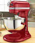 KitchenAid KV25G0X 5-Qt. Professional Stand Mixer $200