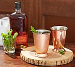 2 Set of Pottery Barn Copper Julep Cup $10
